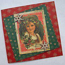 Papiernictvo - Vianočná pohľadnica - 5924848_