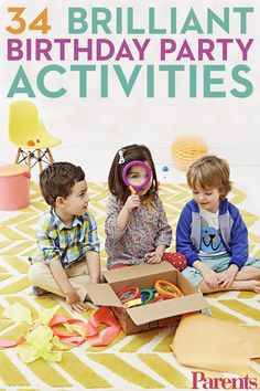 Make party planning easier with these fun craft and game ideas that your cutie and her friends will love.