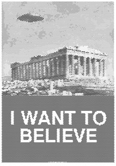 I WANT TO BELIEVE by tind.deviantart.com  support here http://www.indiegogo.com/I-WANT-TO-BELIEVE?a=1453039