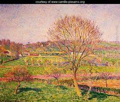 Big-Walnut-Tree-at-Eragny_Pissarro
