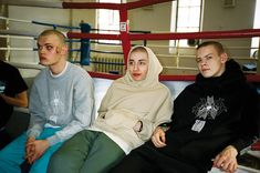 GABBER ELEGANZA - The Russian Kids by Gosha Rubchinskiy Somewhere...