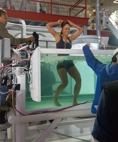 behind the scenes #the100