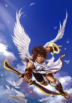 Pit Kid Icarus By TixieLixdeviantart On DeviantArt