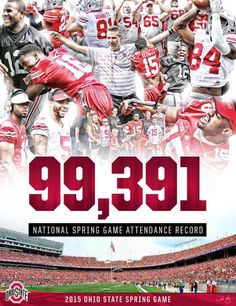 4-18-2015 99.391 NATIONAL SPRING GAME ATTENDANCE RECORD-BY SAMUEL SILVERMAN.