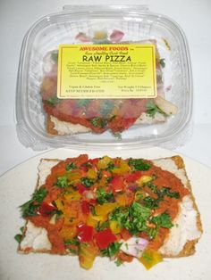 Awesome Foods: Raw Pizza.  http://affordablegrocery.com