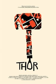 Thor by Olly Moss | Reelizer
