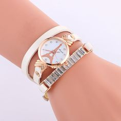 Strap+Material:+Faux+Leather  Dial+Surface+material:+Glass  Color:+White,Red,Black,Orange,Brown,Lake+blue,Light+green,Golden,Royal+blue  Dial+shape:+Round  Item+Type:+Wristwatches  Diameter:+2.6CM  Dial+Thickness:+0.6cm  Strap:+55.5cm  Weight:+20g  Waterproof:+No  Movement:+Qu...