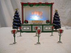 Dept 56 Snow Village Christmas --- Stardust Drive-In Theater 55064 --- RETIRED