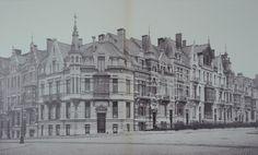 Square Marie-Louise, tronçon compris entre le square Gutenberg et la rue du Cardinal (<i>L'Émulation</i>, 1901, pl. 29-30).