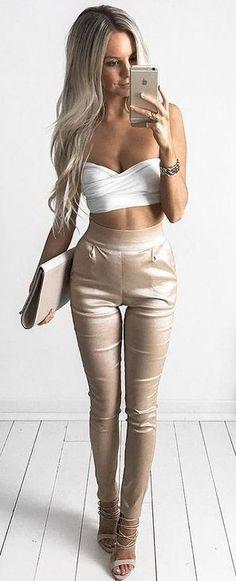 #summer #style |Meshki Boutique  Reneta Crop Top & Nikki Pants