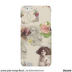 pretty pink vintage floral case