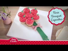 Cupcake Bouquet of Roses - Mothers' Day - Betty Crocker