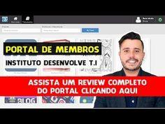 Portal de Membros Instituto Desenvolve T I  Veja Review Completo - YouTube