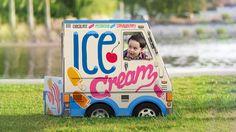Camion de crème glacée de OTO