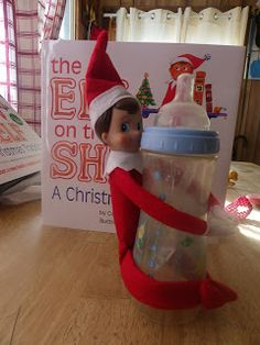 Elf on the Shelf   make him bendy so you can have more fun with him!