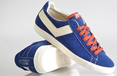 Pony Topstar Low | Navy / Orange - EU Kicks: Sneaker Magazine