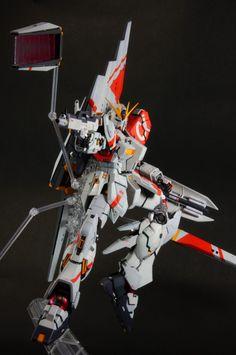 GUNDAM GUY: MG 1/100 Nu Gundam Ver. Ka Kowloon Custom - Painted Build