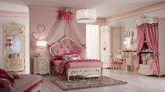 * Классическая спальня Orleans в розовых тонах от фабрики Alberto&Mario Ghezzani * Classic bedroom Orleans in pink colors by factory Alberto&Mario Ghezzani
