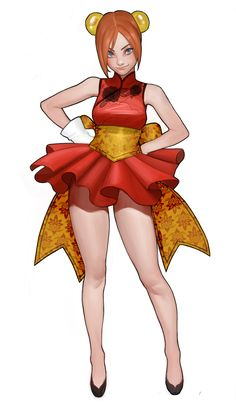 ArtStation - Red, Eun ji Jeong Female Character Design, Character Creation, Character Design Inspiration, Game Character, Character Concept, Concept Art, Cute Characters, Fantasy Characters, Female Characters