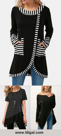 long sleeve blouses for women, black blouses, Spring outfits, fashion, spring fashion, outfits, casual outfits, cute outfits, women's fashion ideas, women's fashion, women's style, women's inspiration