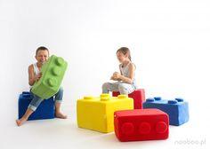 Poduchy LEGO (proj. nooboo), do kupienia w DecoBazaar.com