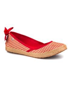Look what I found on #zulily! Tomato Soup Indah Flat - Women by UGG® Australia #zulilyfinds