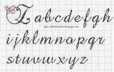 Alfabeto farfalle minuscolo