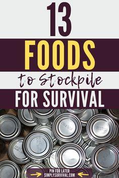 Emergency Food Storage, Emergency Food Supply, Emergency Preparation, Emergency Supplies, Emergency Kits, Survival Food, Survival Prepping, Survival Skills, Urban Survival