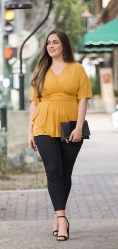 Classy Plus Size Work Outfit Ideas