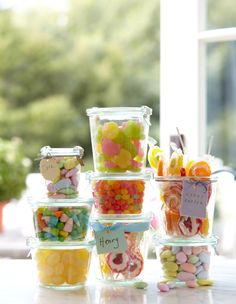 Williams-Sonoma Easter candy in Weck jars!