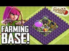 "cool CLASH OF CLANS  ""EPIC"" TOWN HALL 7 FARMING BASE/ GOLDEN PLANET MINI TH7Clash Of Clans Free Gems! Click H"