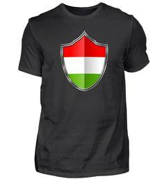 Ungarn-Hungary Wappen Flagge 015 T-Shirt Mens Tops, Fashion, Flag, Hungary, Crests, Cotton, Moda, Fashion Styles, Fashion Illustrations