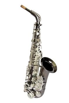Sax Dakota USA SDA-1000 Gray Onyx Plated Professional Alto Saxophone Save 10% off with Coupon Code D10 Only at Hornsales.com