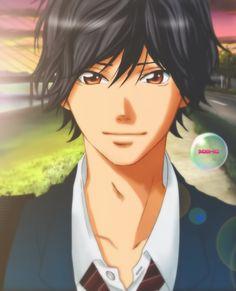 Ao Haru Ride - Kou - By Kanae - on pixiv. Ao Haru Ride Kou, Tanaka Kou, Anime Guys, Manga Anime, Mabuchi Kou, Blue Springs Ride, Roronoa Zoro, Art Memes, Boy Art