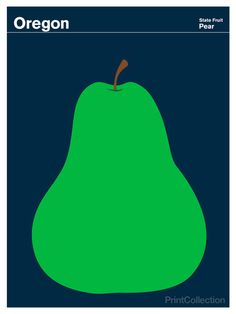 Oregon designated the pear (Pyrus communis) as the official state fruit in 2005. Oregon produces a variety of pears including Comice, Anjou,...