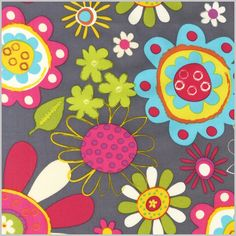 Haley will adore this one! (Amy Schimler Fabric from Lola Pink Fabrics)