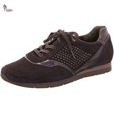 Gabor, Sneakers Hautes Femme - Noir (67 Schwarz), 40.5 EUGabor