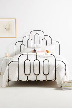 Deco Bed, Anthropologie #EclecticBedrooms