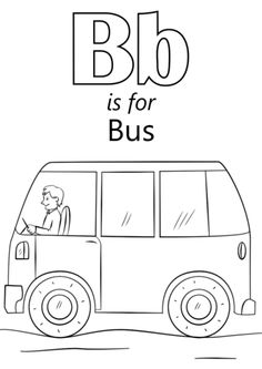 School Bus Coloring Page . 30 Best Of School Bus Coloring Page . School Bus Color Page Coloring Pages Letter B Coloring Pages, Preschool Coloring Pages, Coloring Pages To Print, Coloring Pages For Kids, Coloring Sheets, Kids Coloring, Letter B Worksheets, Preschool Worksheets, Letter Tracing