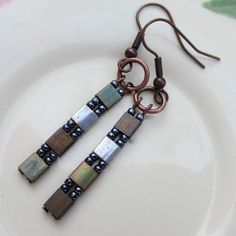 Hey, I found this really awesome Etsy listing at https://www.etsy.com/listing/127714999/bronze-tila-earrings