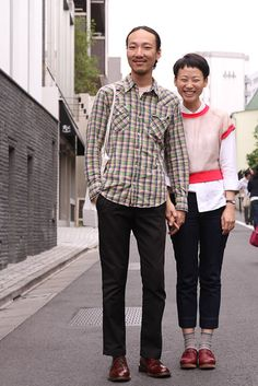 i love you. both of you. #tokyo #omotesando #streetstyle