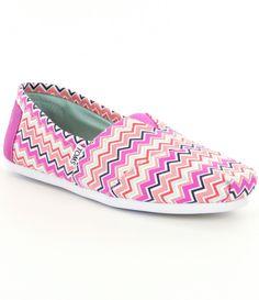 #Dillards...TOMS Chevron Alpargata Shoes