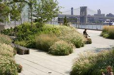 Park designed by Ken Smith groen uitzicht grassen park #UrbanLandscape