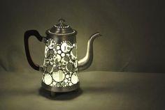 Beautiful Lighting from Recycled Utensils ~ Interior Design Files