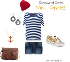 """Disneyworld Outfits: Mr. Smee"" by daisyelyse on Polyvore"