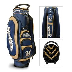 Milwaukee Brewers MLB Cart Bag - 14 way Medalist