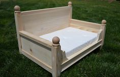 Newborn Photography Prop  Doll Bed  Photo by ALittleMiscellany, $73.00