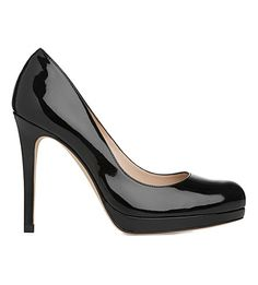 LK BENNETT Sledge patent leather courts £195.00