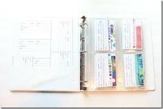 Fabric Organizing System-Cards