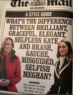 Here to support the BRF! Any stories offered and any articles published are the opinion of the authors and not necessarily based on fact. Everything here is speculation only! Harry And Meghan News, Kate And Meghan, Prince Harry And Megan, Good Riddance, True Nature, Selfish, Meghan Markle, Style Guides, Cambridge